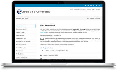 Cursos de E-commerce e Marketing Digital Online