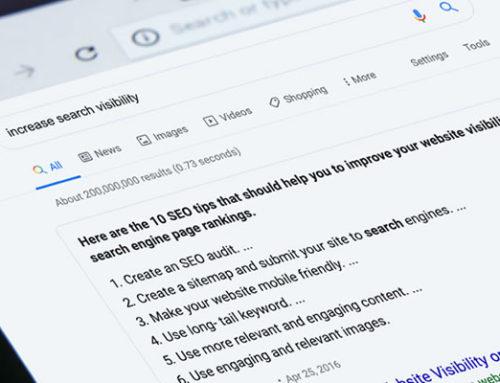 Otimização de textos para ferramentas de busca
